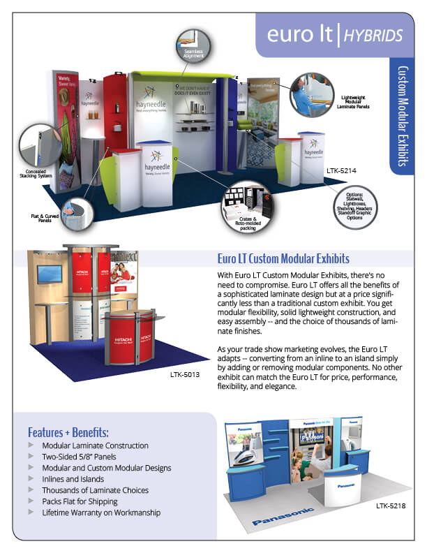 Euro LT — Portable Modular Displays and Exhibits