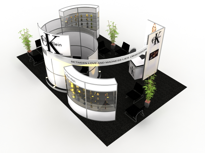 Island Exhibition Stand : Island exhibits classic trade shows