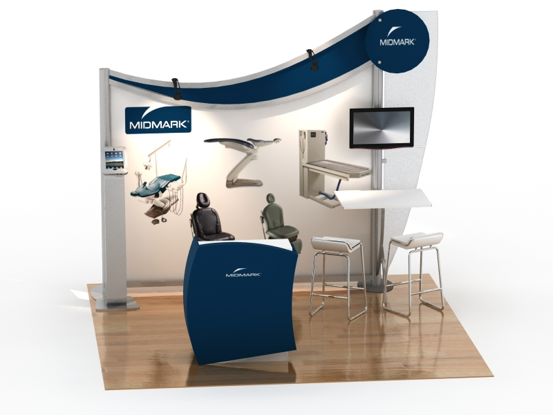 visionary designs hybrid exhibits classic exhibits booth design ideas - Booth Design Ideas