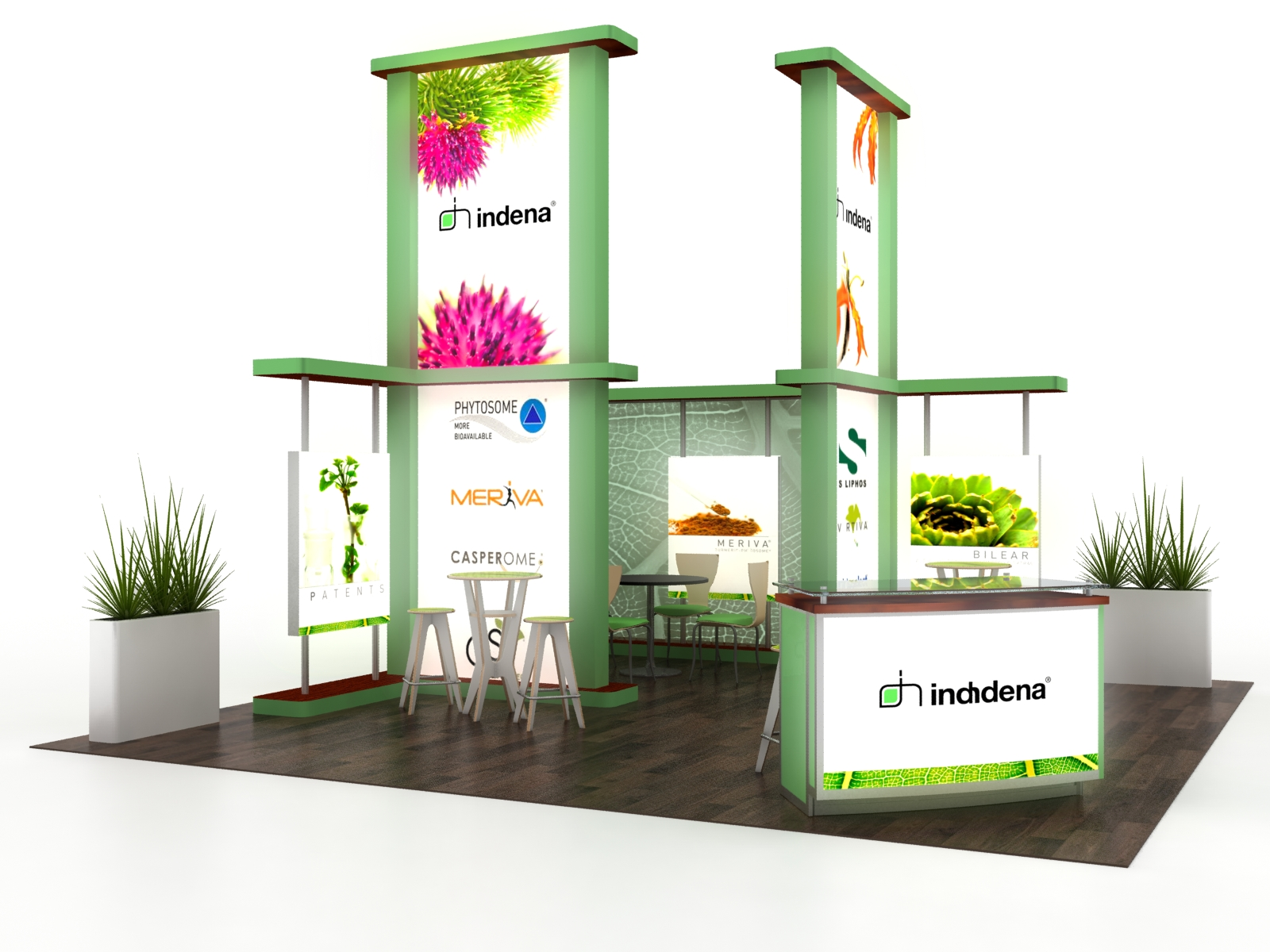 Exhibition Booth Accessories : Exhibit design search vk island