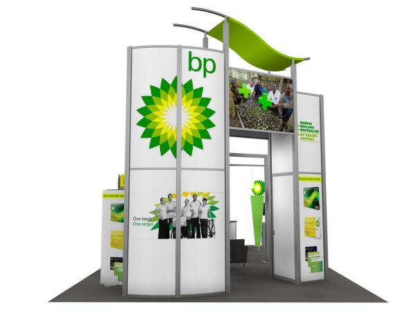 RE-9029 / BP Trade Show Rental Display -- Image 3
