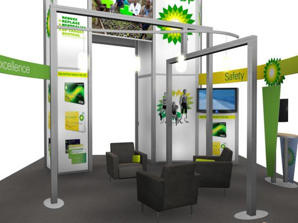 RE-9029 / BP Trade Show Rental Display -- Image 8