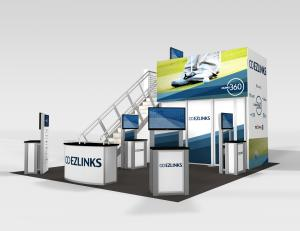 RE-9073 Ezlinks Trade Show Rental Exhibit -- Image 1