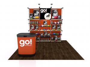 FG-115 Trade Show Pop Up Display -- Version 2b
