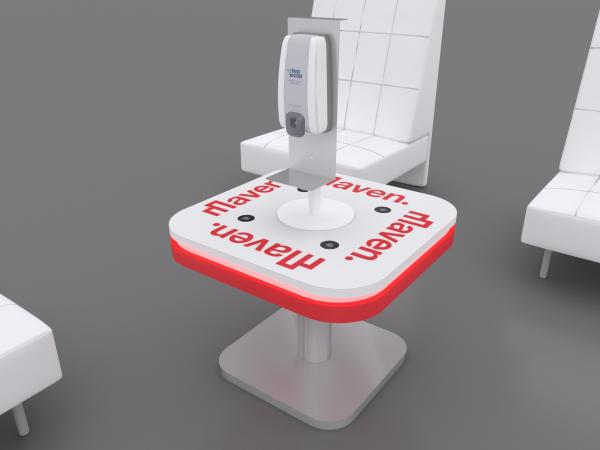 MOD-9007 Hand Sanitizer Stand  -- Image 3