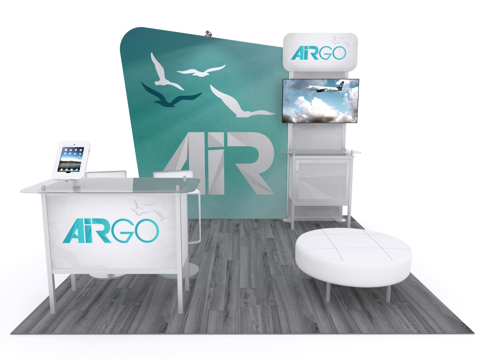 The Beauty of Smaller Trade Show Displays - | Classic Exhibits