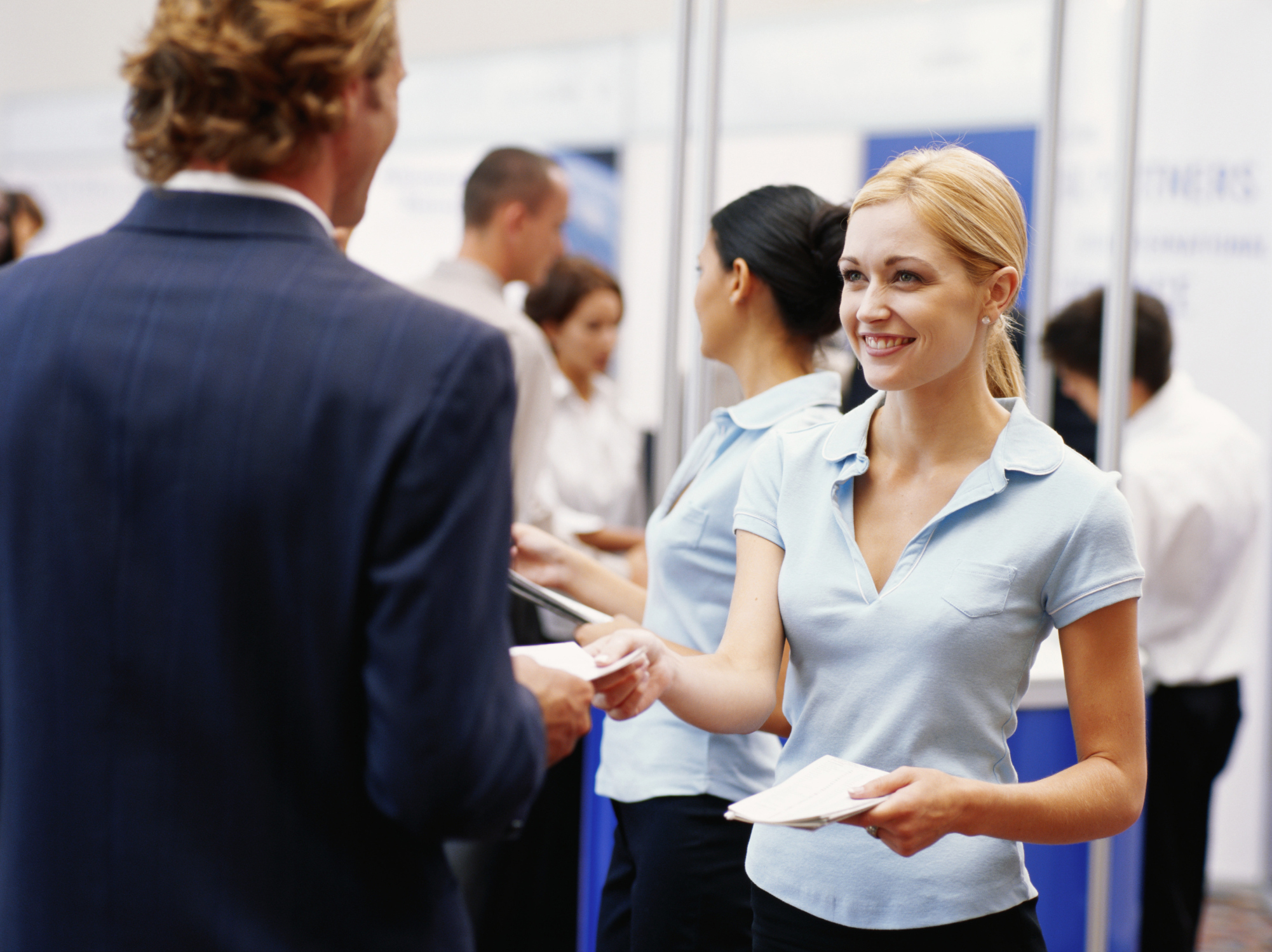Excellent Custom Service At Trade Shows