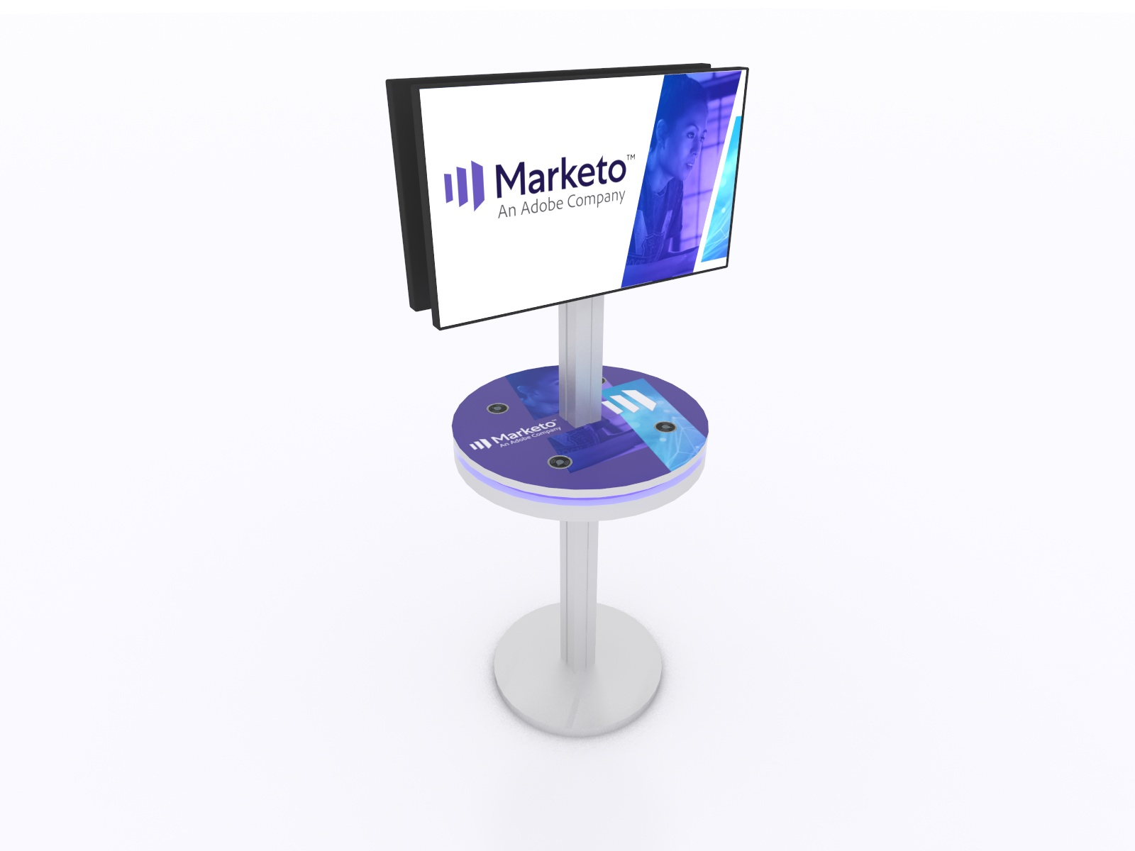 MOD-1474 Trade Show Charging Station -- Image 1