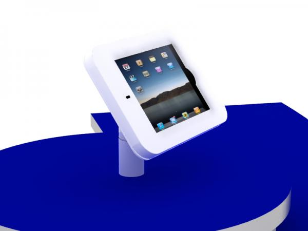 MOD-1329 Rotating iPad Counter Mount (White)