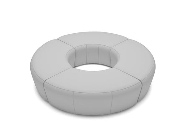 Ottoman Ring -- Trade Show Rental Furniture