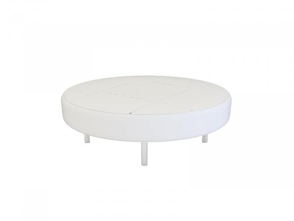 Endless Round Ottoman -- Trade Show Rental Furniture