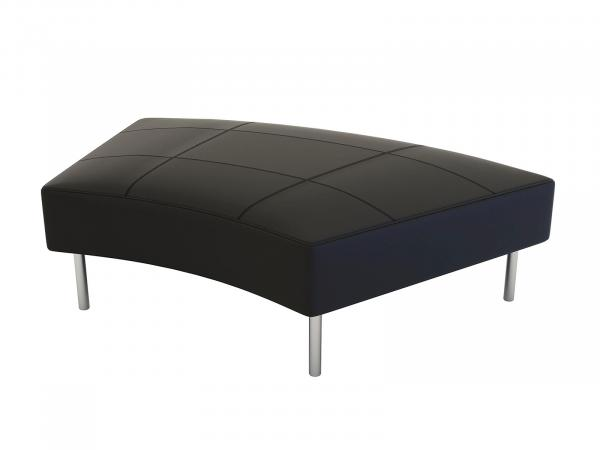 CEOT-023 | Endless Curved Ottoman -- Trade Show Rental