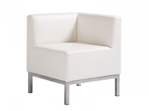 Heathrow Corner Chair -- Trade Show Furniture Rental