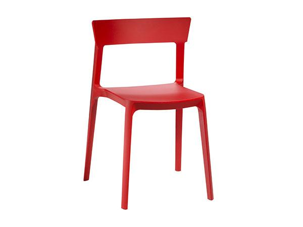 CEGS-020 | Blade Chair  Red-- Trade Show Furniture Rental