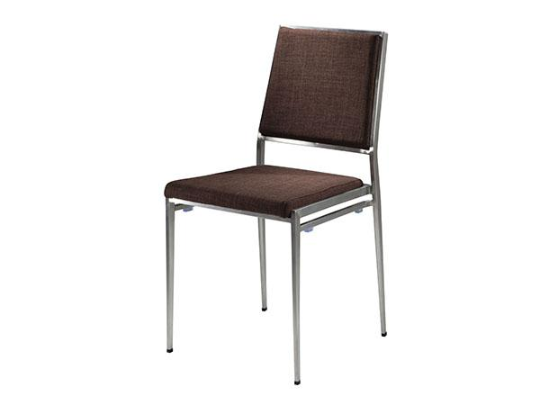 CEGS-026 | Marina Chair Brown Fabric -- Trade Show Furniture Rental