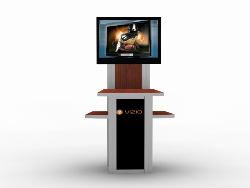 Expo Stands Kioska : Exhibit design search mod 1229 monitor stand monitor stands