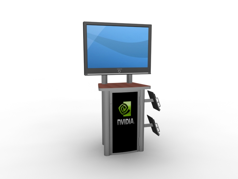 MOD-1245 Workstation/Kiosk for Trade Shows and Events -- Image 1