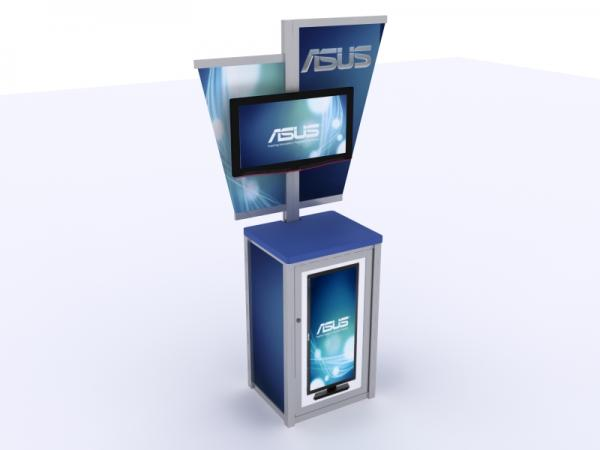 MOD-1206 Trade Show Workstation or Kiosk -- Image 3