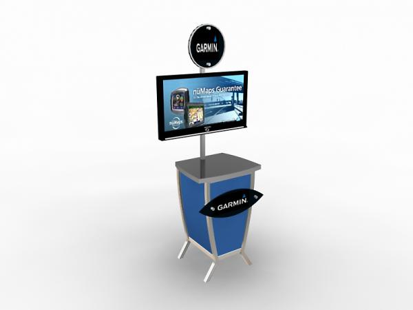 MOD-1228 Trade Show Monitor Stand -- Image 3