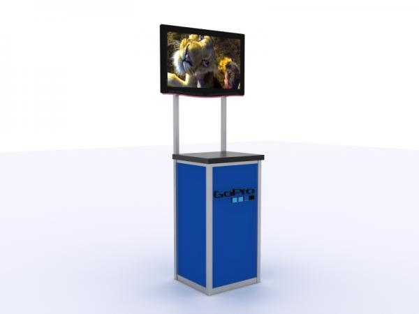 MOD-1534 Trade Show Monitor Stand -- Image 1