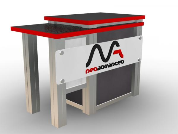 MOD-1260 Trade Show Counter -- Image 1