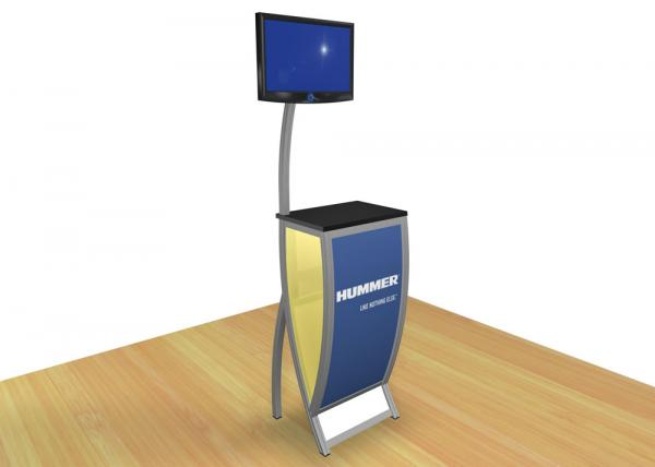 VK-1603 Trade Show Workstation or Kiosk -- Image 2