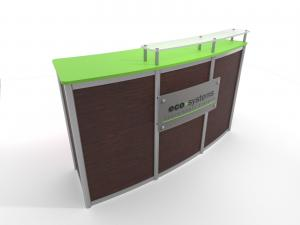 ECO-11C Sustainable Reception Counter - Image 1
