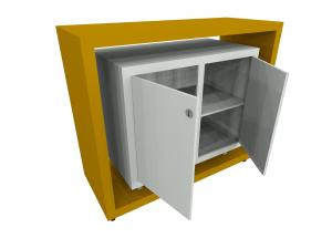ECO-48C Sustainable Modular Custom Counter