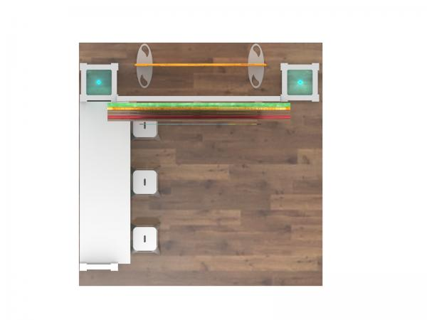 ECO-1123 Sustainable Display - Plan View