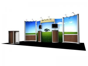 Solo 10x20 Green Eco-Systems Display