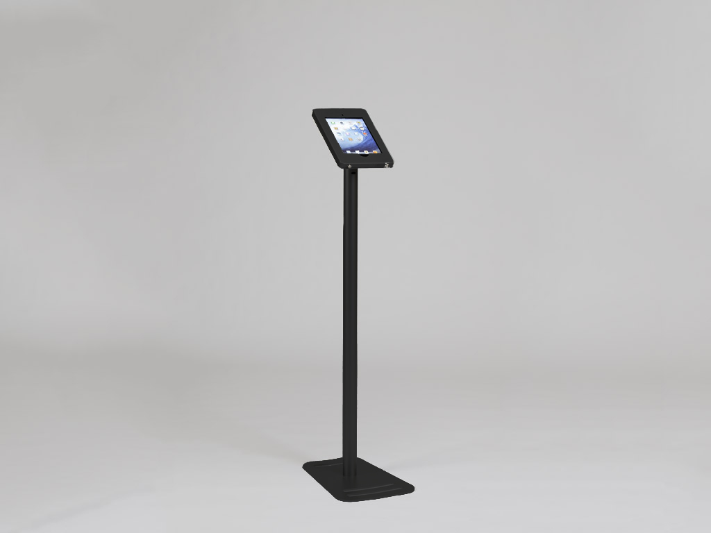 MOD-1335 Portable iPad Kiosk -- Black