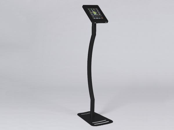 MOD-1339 Portable iPad Kiosk -- Black