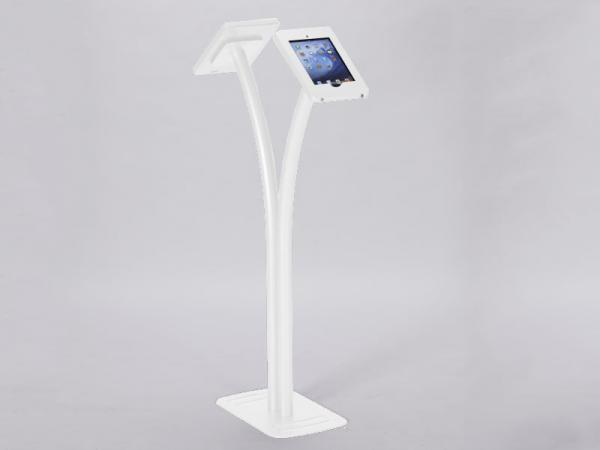 MOD-1334 Portable iPad Kiosk -- White