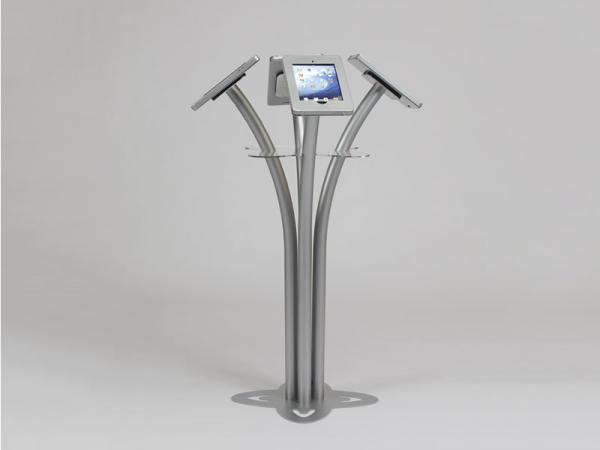 See the MOD-1338 for the Portable iPad Kiosk Version