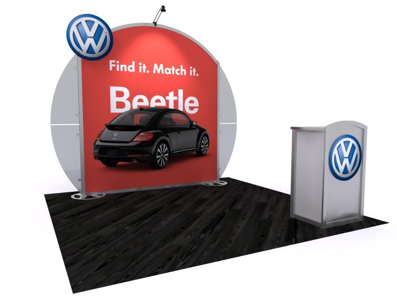 Exhibit Design Search - VK-1120 | Modern Hybrid (10 ft. Portable ...