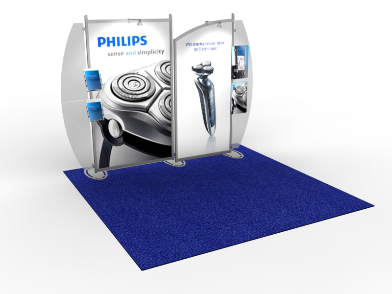 VK-1235 Portable Hybrid Trade Show Exhibit -- Image 1