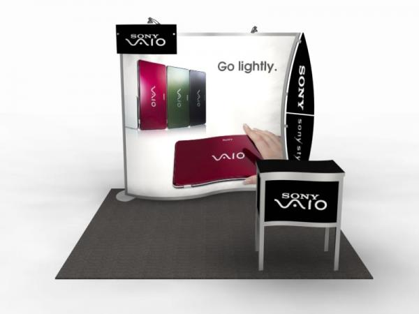 VK-1077 Portable Trade Show Display -- Image 2