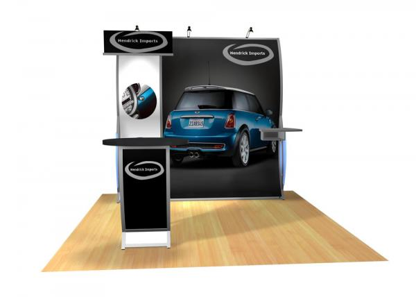 Perfect 10 VK-1505 Portable Hybrid Trade Show Display -- Image 5