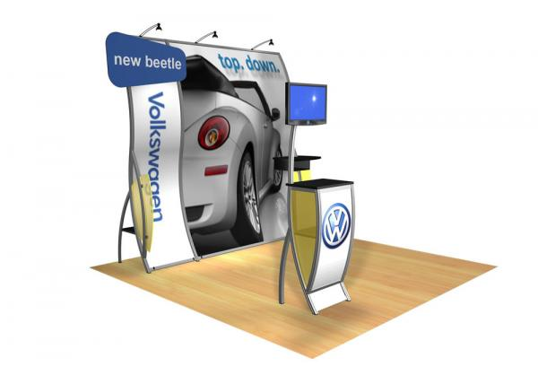 Perfect 10 VK-1506 Portable Hybrid Trade Show Display -- Image 2 (polygon header)