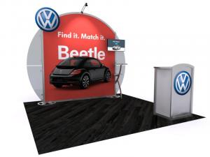 VK-1121 Portable Hybrid Trade Show Exhibit -- Image 1