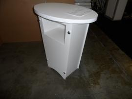 LTG-1001 Portable Tapered Pedestal with Graphic -- Image 3