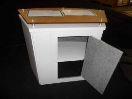 LTK-1011 Modular Laminate Counter with Locking Storage -- Image 3