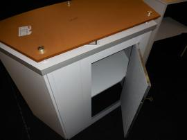LTK-1011 Modular Counter with Locking Door and Shelf -- View 3