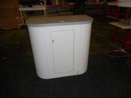 Modified LTK-1152 Modular Counter with Locking Door and Shelf -- Image 2