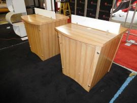 Custom Modular Counters with Tapered Sides