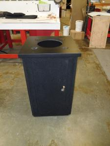 Intro Portable Pedestal with Counter Top Opening and Grommets