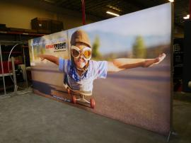 VK-2949D SuperNova LED Lightbox with SEG Tension Fabric Graphics