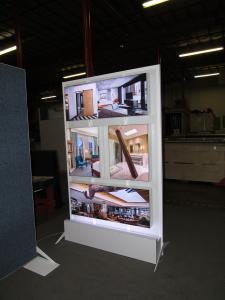 Re-configurable LED Lightboxes