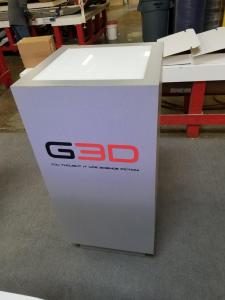 Trade Show Display Podium