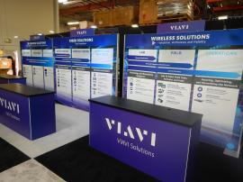 Rental Inline Exhibit with Gravitee Modular Wall Panels